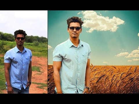 Easy Photo Manipulation Tutorial For Beginners   Change Background in Photoshop Cs6/cc Tutorial