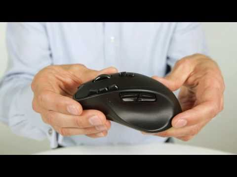 Up Close with the Logitech Wireless Gaming Mouse G700