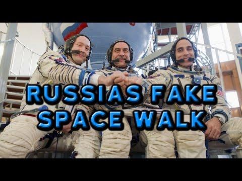 Russias Fake Space Walk - Flat Earth