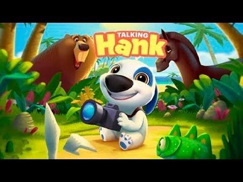 Мой Говорящий Хэнк первый обзор Игровое видео