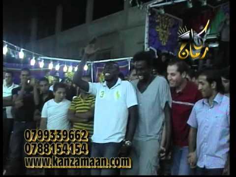 حفل لاعب الفيصلي ابراهيم الزواهرة2