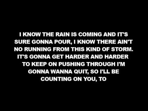 [lyrics] Kip Moore - Faith When I Fall video