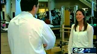 Reporter tests calorie counter on exercise equipment