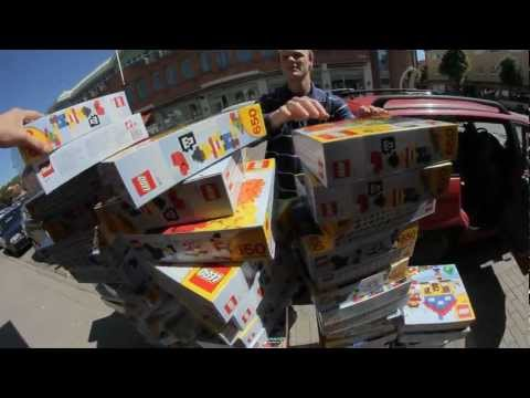 Rymdreglage buys 100 boxes of lego (vlog)