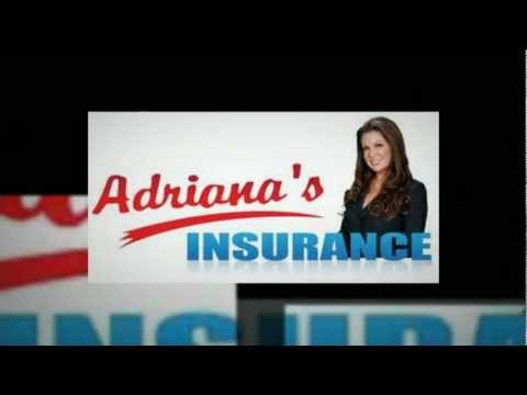 www.adrianasinsurance.com | Free On-Line Quotes: (888) 639-8783 | Auto Insurance California