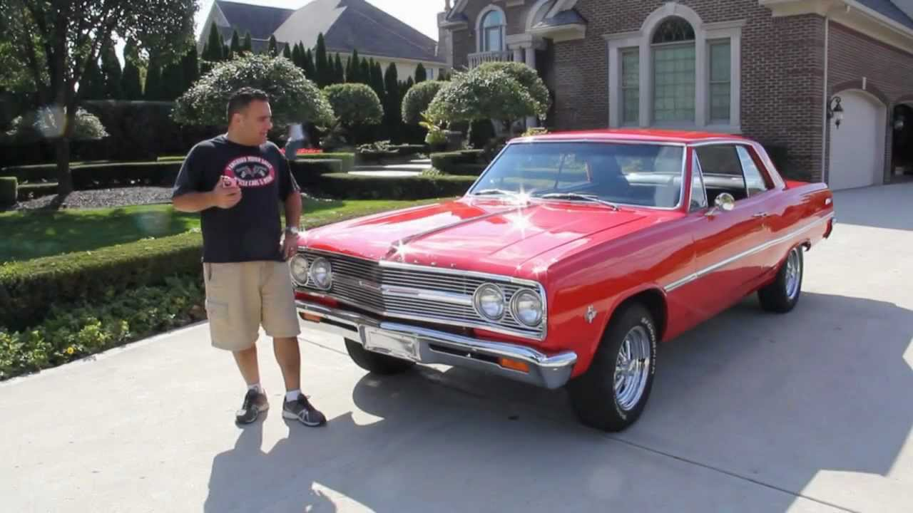 1965 Chevy Chevelle Malibu Classic Muscle Car For Sale In Mi Vanguard Motor Sales Youtube