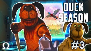 COULD THE CREEPY DOG BE DAD?! | Duck Season #3 VR Full Playthrough Endings 4 & 5 (RUNAWAY / TRAPPED)