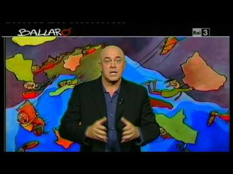 """Ballarò – MAURIZIO CROZZA – 16/10/2012 – """"L'Homo Electus farà spazio all'Homo di 'Ndranghental"""""""