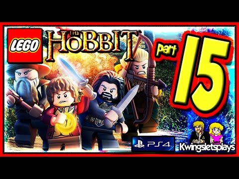 Lego the Hobbit - Walkthrough Part 15 On the Door Step