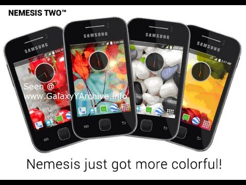 How to install Nemesis Two (Titanium) ROM on Galaxy Y + Quick Review