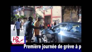VIDEO: Haiti Grèv kont pri Gaz la Nan Port-au-Prince jounen 2 Fev 2015