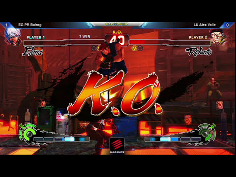 PR Balrog vs Alex Valle - Capcom Cup Ultra Street Fighter IV Exhibition