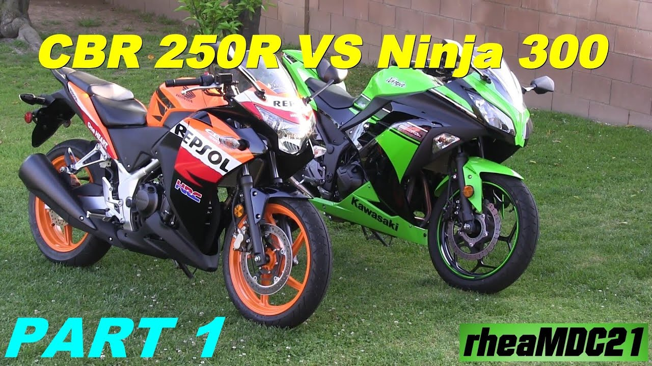 Kawasaki Ninja Vs Honda Cbrr Repsol