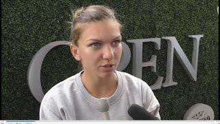 Simona Halep primele declaraţii la US Open 2015