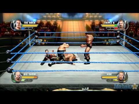 WWE All Stars Walkthrough - Path of Champions D-Generation X - Triple H & Shawn Michaels