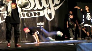 Free Style Session 2011  BBOY FINAL Jinjo crew vs Renegades