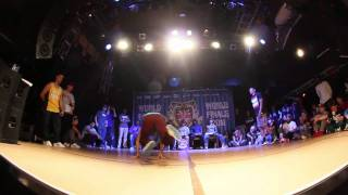 Bboy Salo vs. Bboy Morris | UK B-Boy Champs Quarter Final 2011