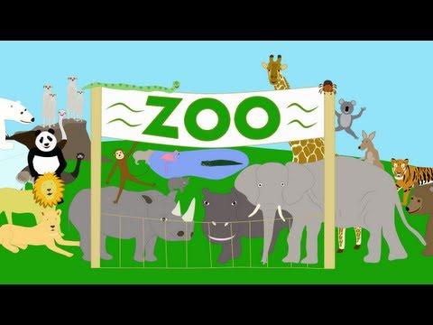 Limba engleza pentru copii - La gradina zoologica