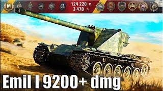 Шведский танк Emil I ИМБА в прямых руках 9200 урона на 8 уровне. Малиновка-лучший бой World of Tanks