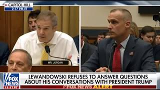 Lewandowski tells Rep. Jim Jordan no collusion