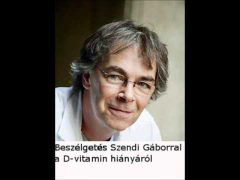 Szendi Gábor beszélgetése a D-vitamin adagolásáról