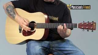 Martin X Series Custom DX1AE Acoustic-Electric Guitar