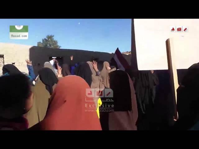 رصد | الفيوم | مسيرة لاهالي قرية قارون التابعة لمركز يوسف الصديق في انتفاضة الشباب المسلم