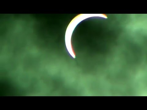 Solar Eclipse 2016 March 9 from Singapore Asia (Almost total: 87%)