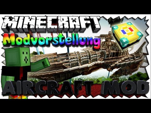 Minecraft 1.5.2 AIRCRAFT Mod - 100% BEWEGTE BLCKE!! [HD+/Deutsch]