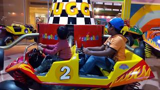 ZIG ZAG MONSTER TRUCK RIDE   Kaunish Kids Videos