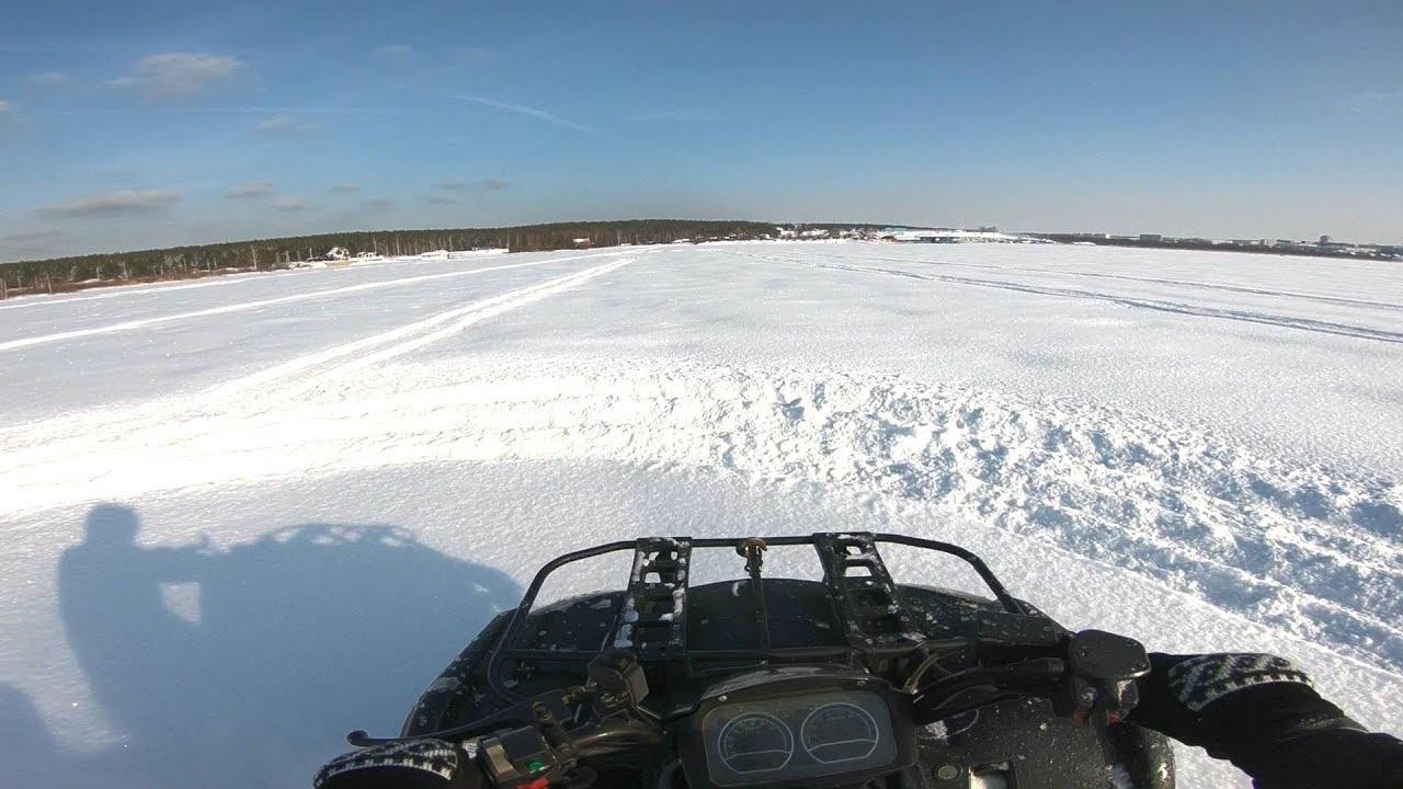 ATV POV SNOW TEST DRIVE PART 2