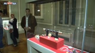 1000 قطعة ذهبية بمتحف بمصر