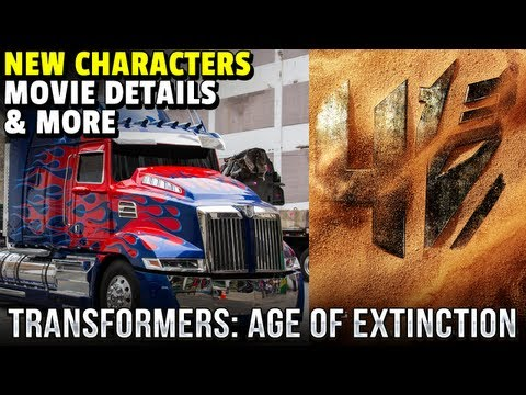 ►Transformers 4: Age of Extinction - Dinobots, New Characters & Galvatron hint!