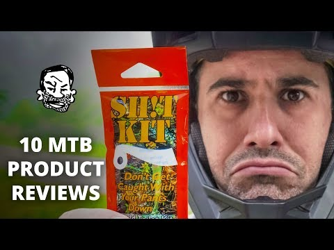 10 MTB Product Reviews   for better or worse