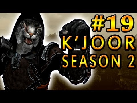 Dark Plays: Skyrim With K'joor Season 2 [19] - the Battle Of Whiterun video