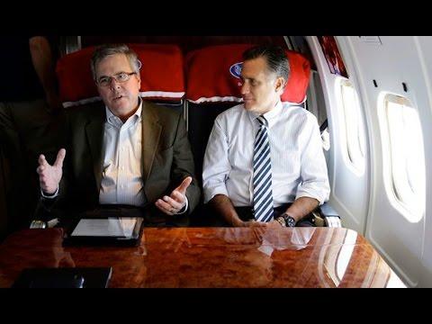 Mitt Romney Vs. Jeb Bush. Who Will Be On The Republican Ticket In 2016?