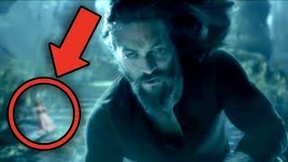 AQUAMAN Full Movie Breakdown! Easter Eggs & Details You Missed!