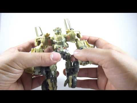 Transformers The Movie 2007 Bonecrusher review en español