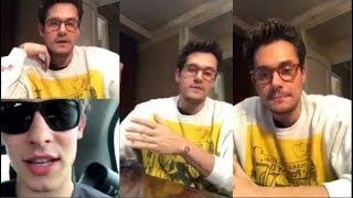 Download Lagu John Mayer talks with Shawn Mendes   Instagram Live Stream   3 December 2017 Gratis STAFABAND
