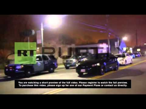 USA: Shootout in Boston as possible Marathon bomber arrested