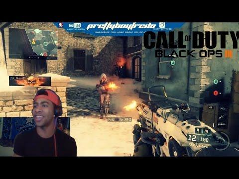 Black Ops 3  Online Multiplayer Gameplay - Face Cam commentary -Prettyboyfredo