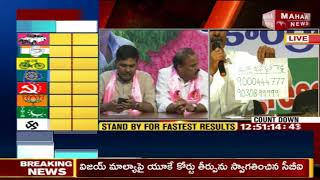 Konda Vishweshwar Reddy Made a Phone Call in Live Press Meet   Gandhi Bhavan   LIVE