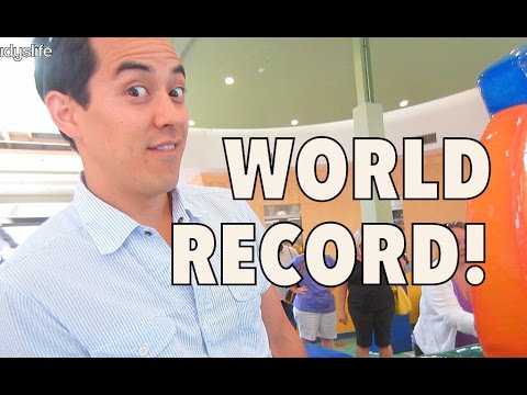 "I've hit a ""WORLD RECORD""!!! - August 27, 2014 - itsJudysLife Daily Vlog"