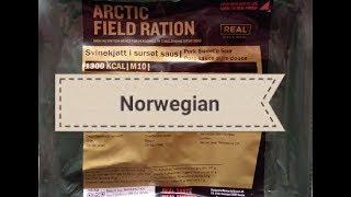 2017 Norwegian Arctic Ration