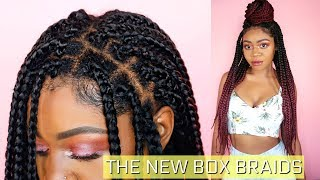Individual Crochet Box Braids - Step by Step - Improved Technique | Jazz Nicole