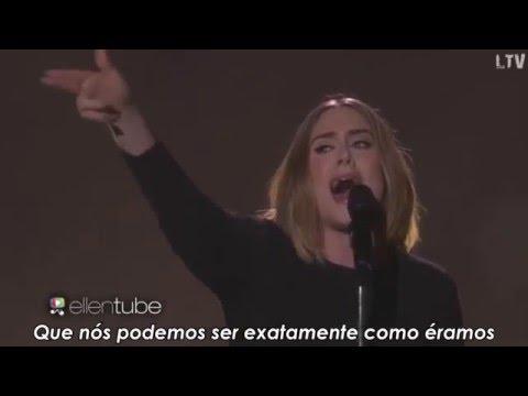 Adele - When We Were Young Legendado ( TheEllenShow ) |HD|