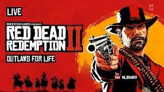 Red Dead Redemption 2 — Выжить вне закона (Прямой эфир/Стрим) (PS4) [MG Live]
