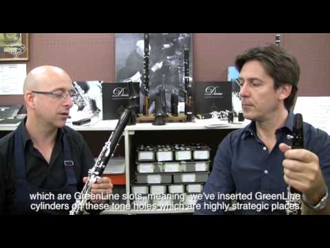 The New Divine clarinet explained by Paul Meyer & Eric Baret