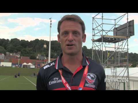 Post Match Report USA v. IRE Women's World cup 2014 - Pete Steinberg USA Women's Eagles