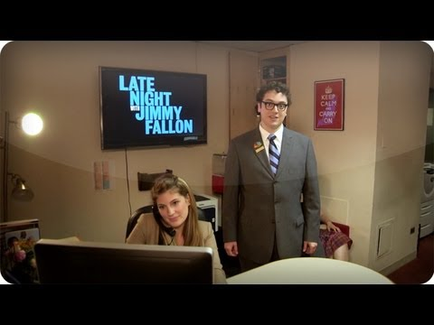 Late Night with Jimmy Fallon Interactive Backstage Tour: RECEPTION